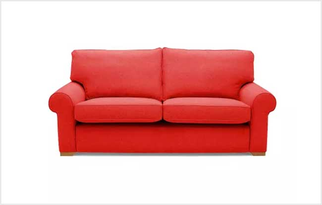 360 Red Sofa